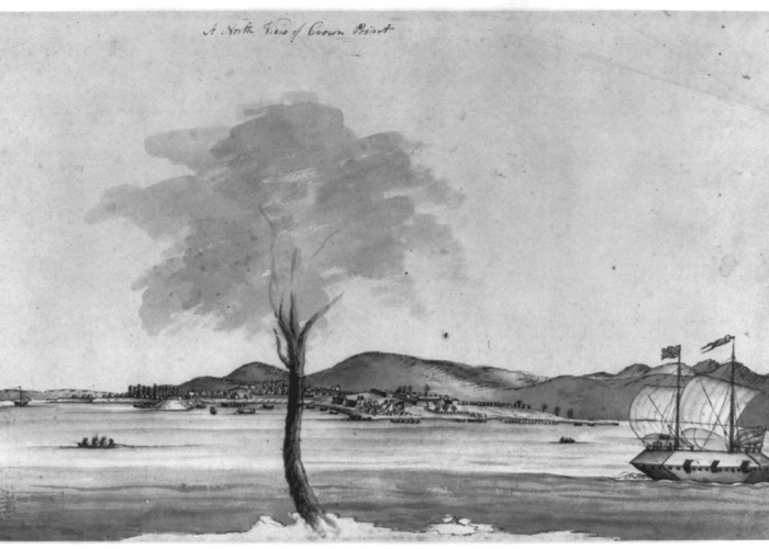 Crown Point c. 1759. Courtesy of Library of Congress.
