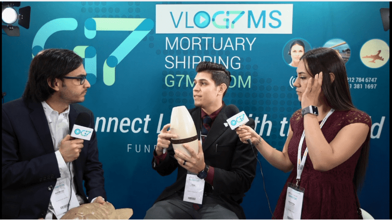 Rene Lopez Speaks with G7 Mortuary Shipping