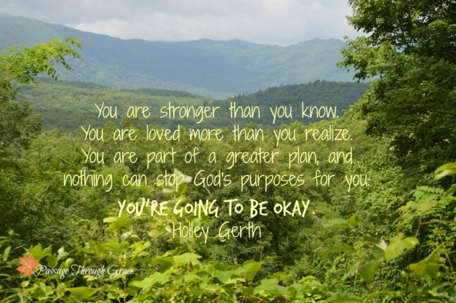Holley Gerth quote