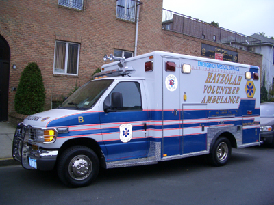 Brooklyn N Y Hatzolah Ambulance Involved In A Motor