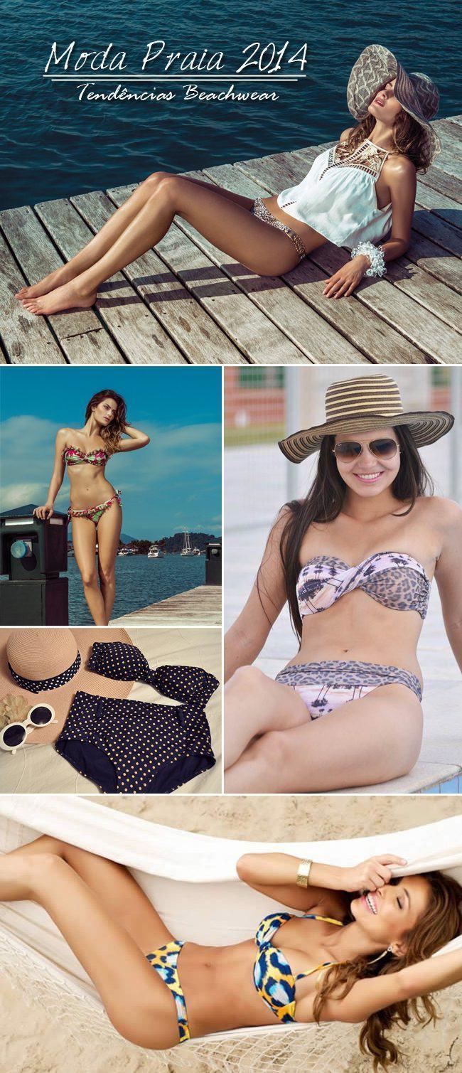 Moda Praia 2014 - tendências beachwear copy