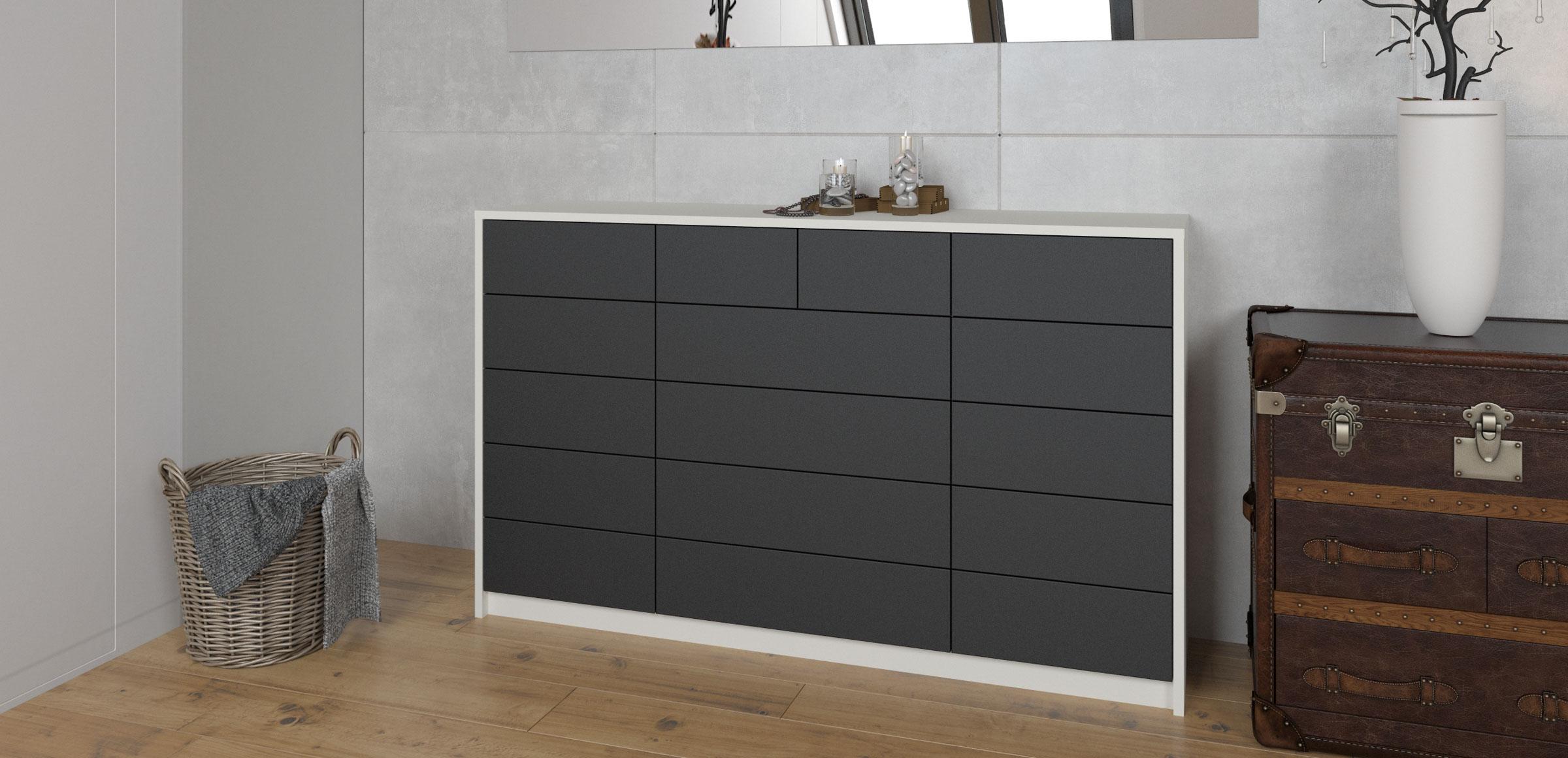 Kommode Badezimmer | Hochglanz Sideboard Agrebo Mit ...