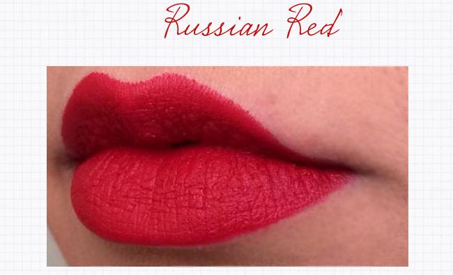Resultado de imagem para mac russian red