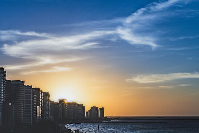 praia brasileira de fortaleza