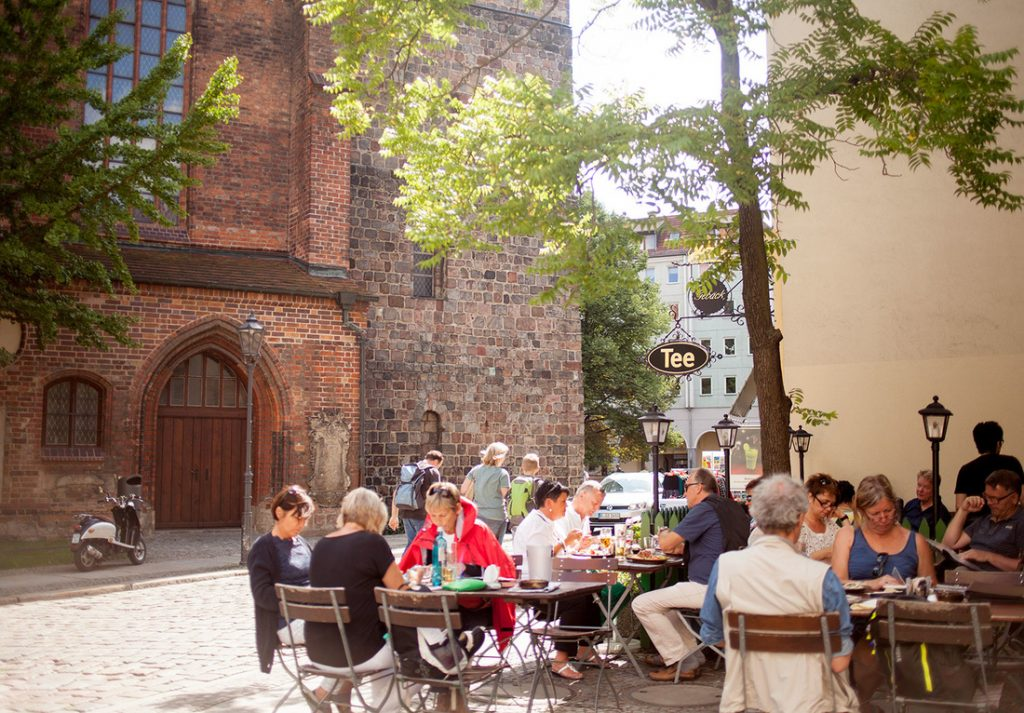 Nikolaiviertel é incrível e reservado