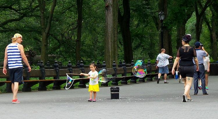 Nova York com crianças – central park – Anders Sandberg