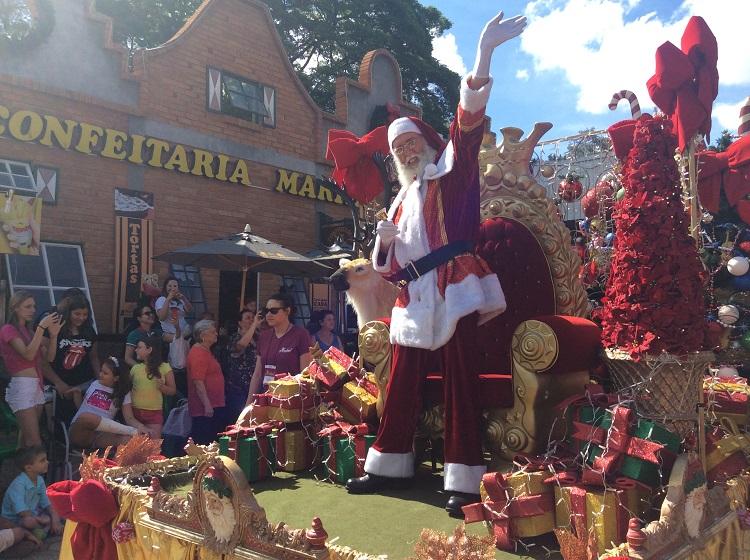 noeland holambra – desfile papai noel