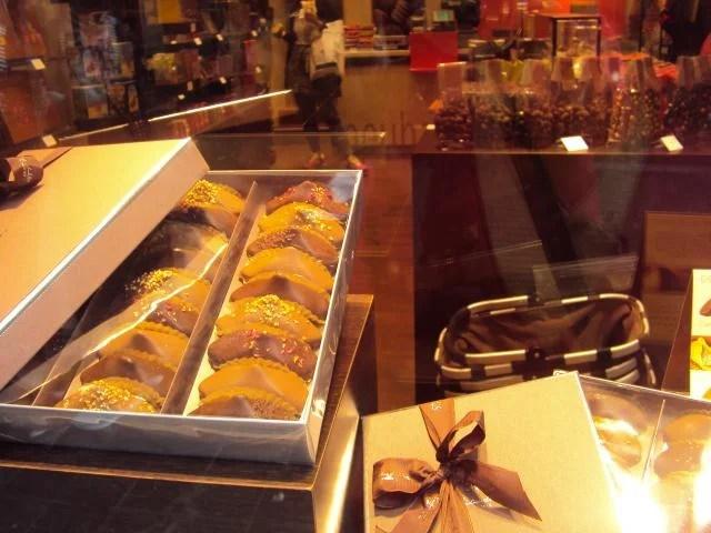 Chocolates belgas