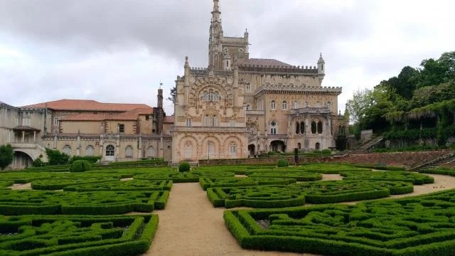 Jardins do Palace Hotel do Buçaco.