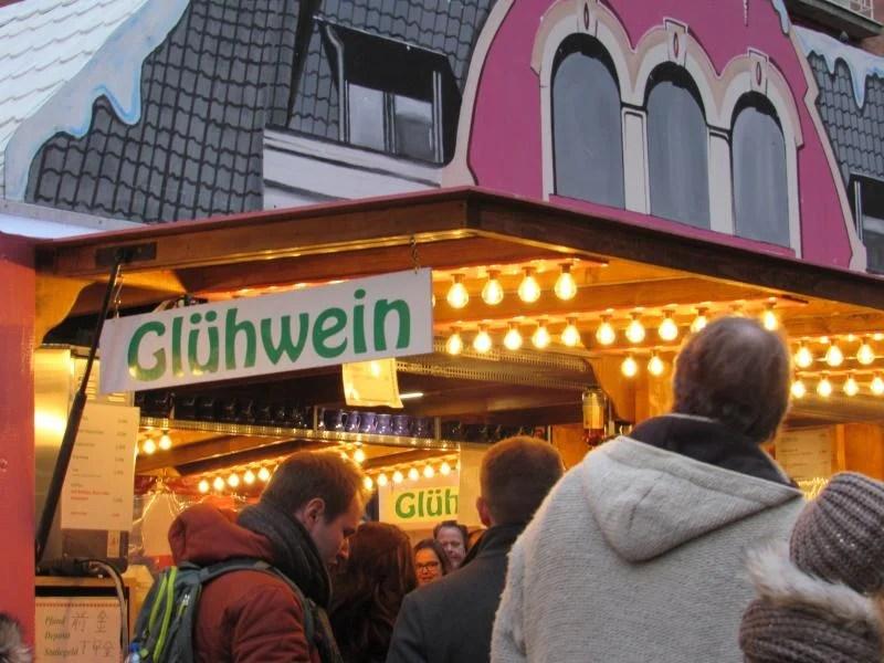 Gluwein na Alemanha.