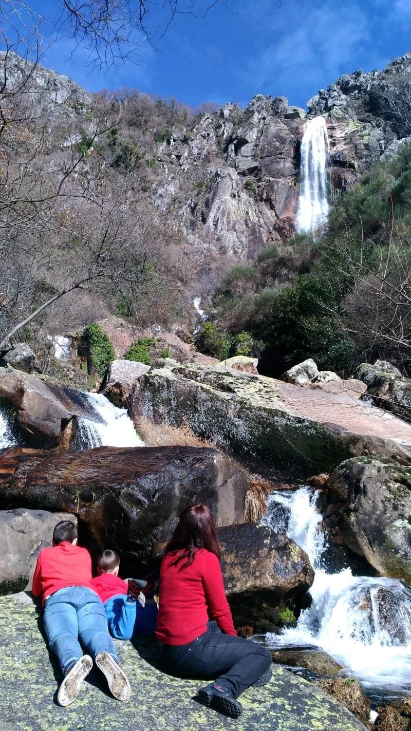 A maior cascata de Portugal