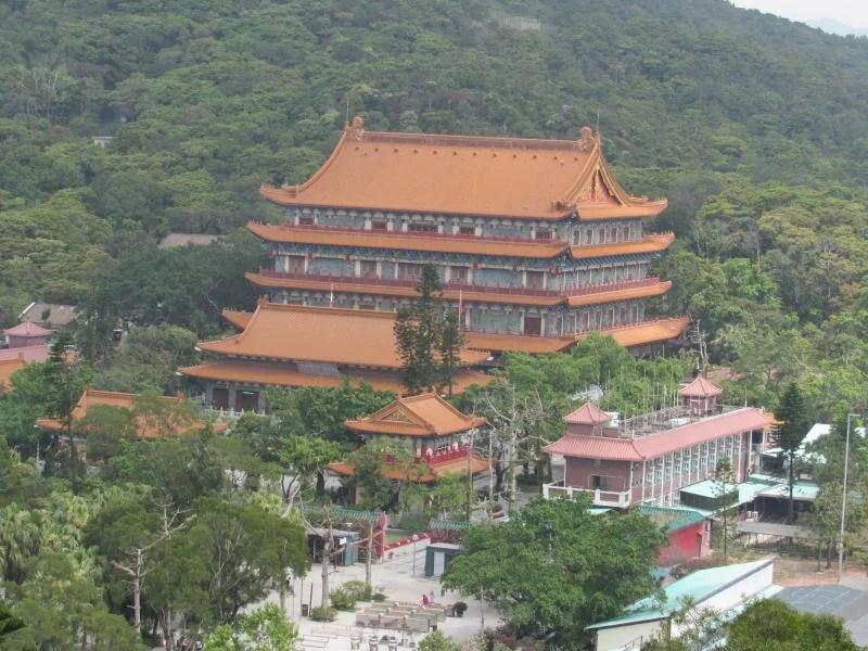 mosteiro-po-lin-hong-kong