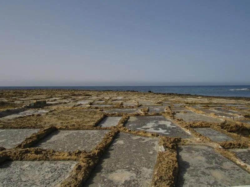 As salinas em Gozo