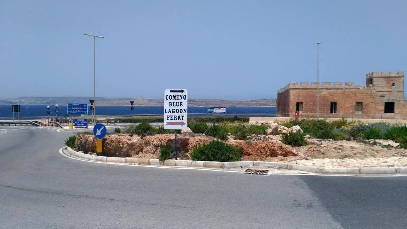 ferry para blue lagoon