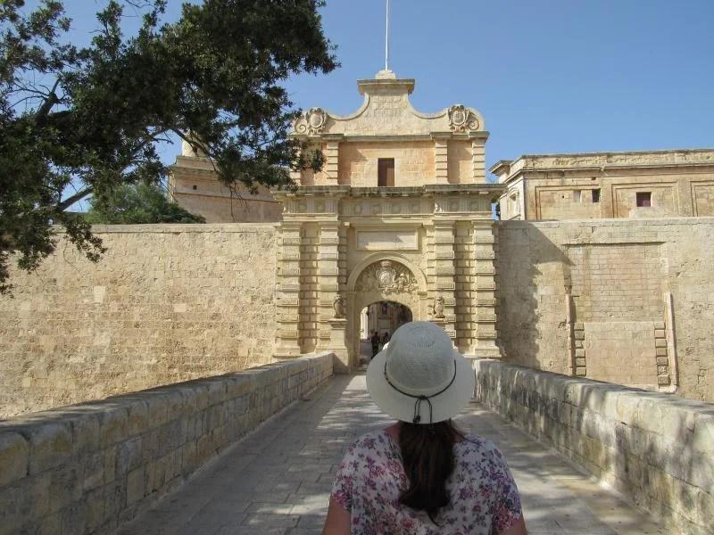 portão de entrada de Mdina