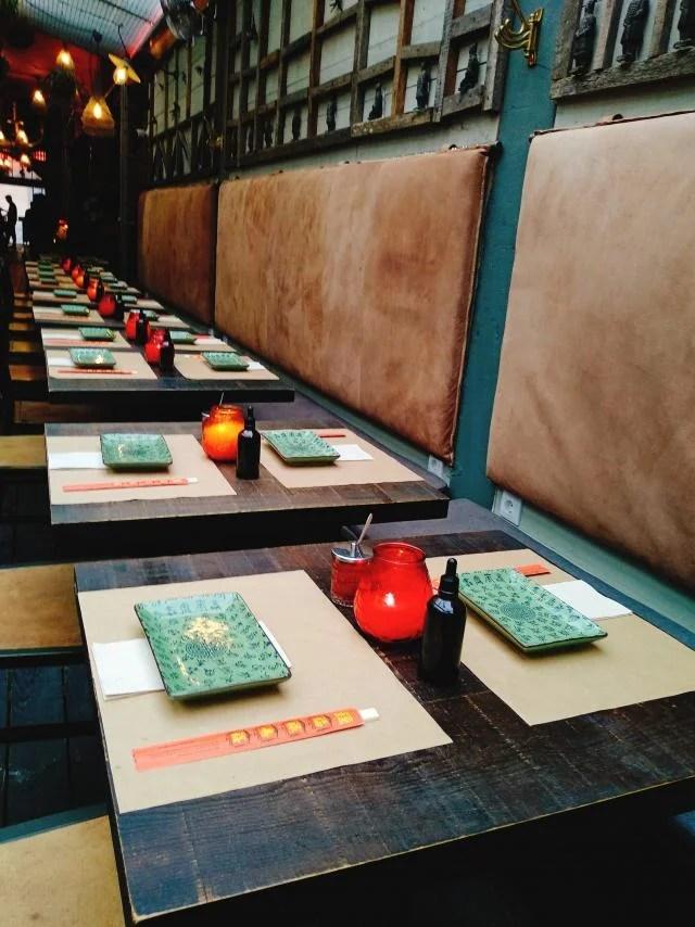 ambiente no restaurante boa bao