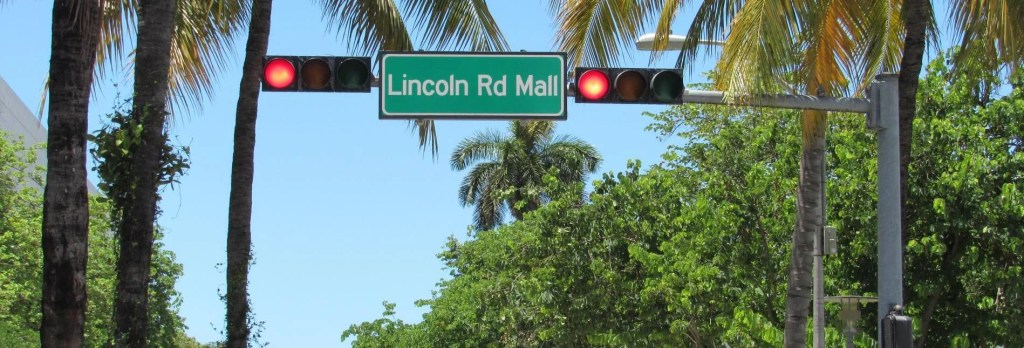 Lincoln Road em Miami Beach