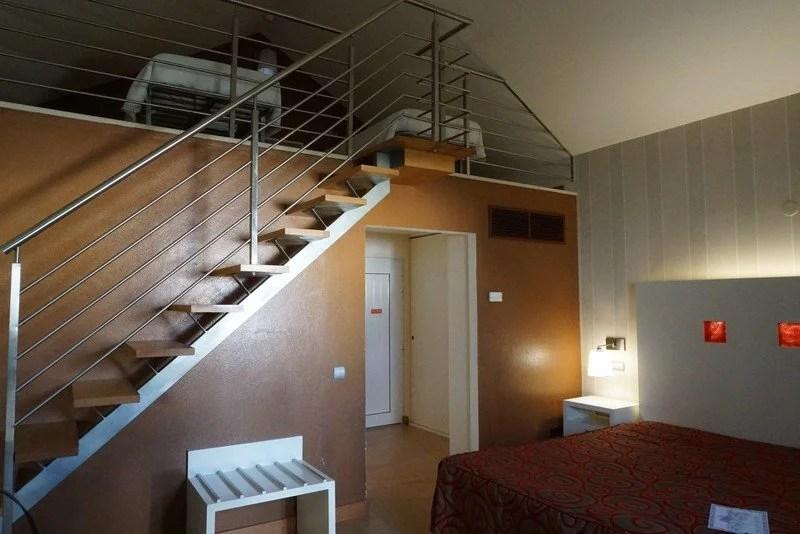 Quarto do Hotel cristal Praia Resort