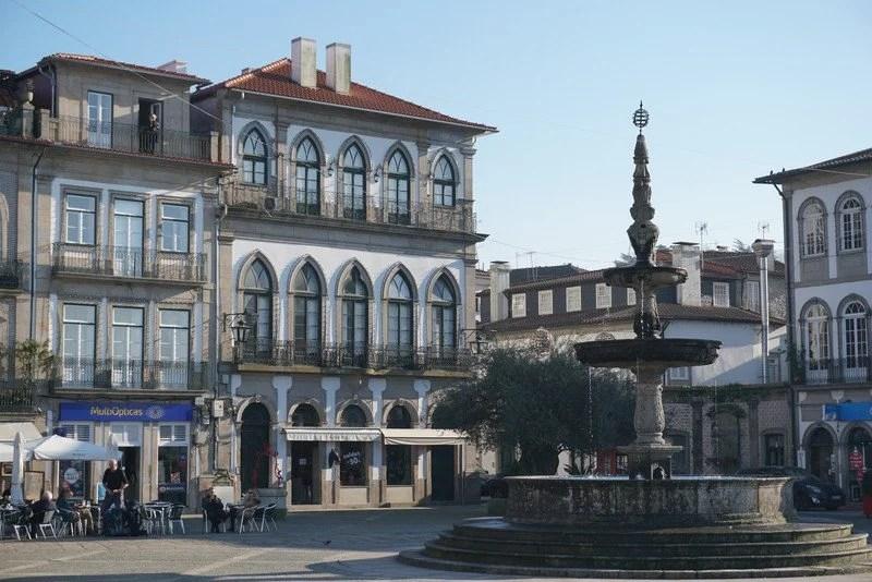 Centro histórico em Ponte de Lima