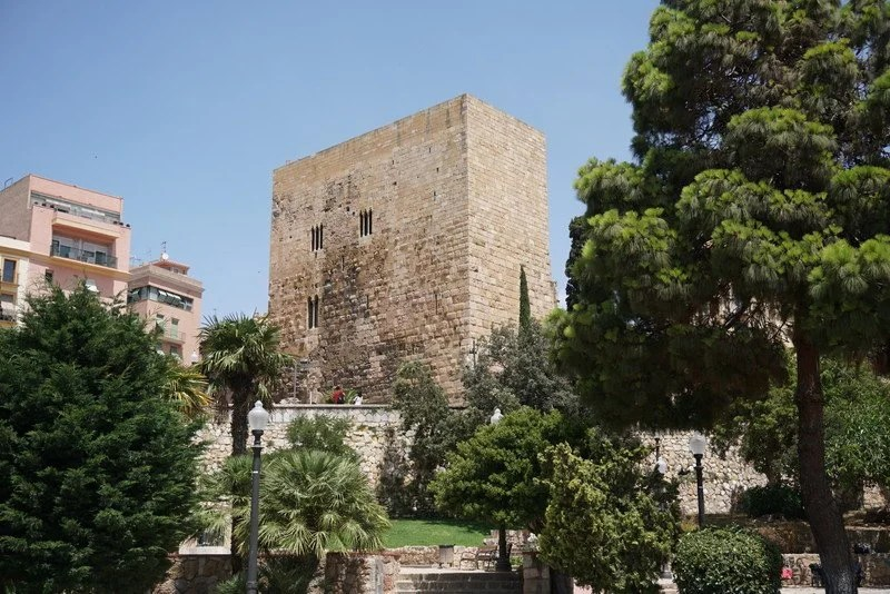 Torre Romana em Tarragona.