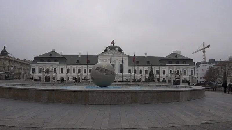 O que visitar em Bratislava: Grassalkovch