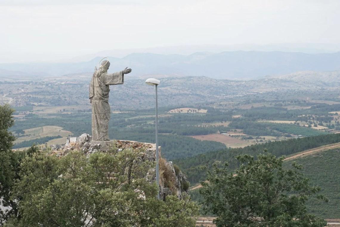 Cristo Rei na Serra da Marofa
