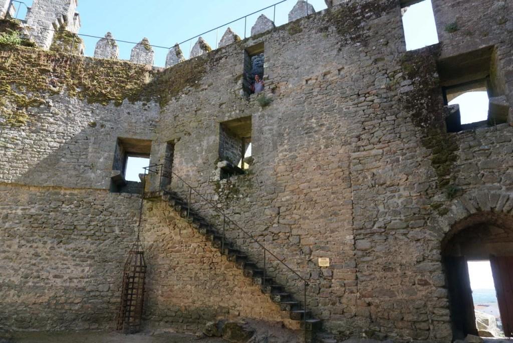 Interior do Castelo de Penedono.