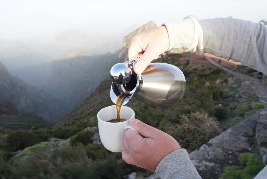 Café Pico do Areeiro.