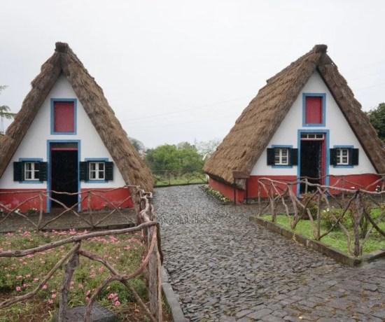 Casas típicas de Santana.