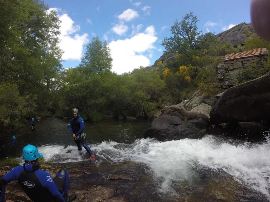 Canyoning Montes de Laboreiro. Turismo de Natureza.