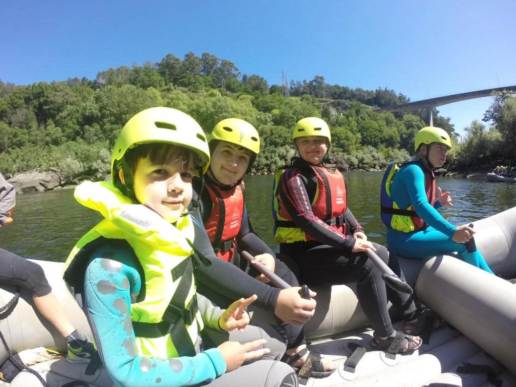 Rafting no Rio Minho com a Melgaço Radical. Turismo de natureza.