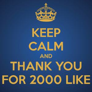 keep-calm-and-thank-you-for-2000-like-1