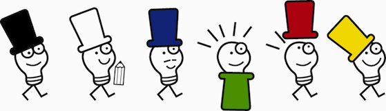 Sei cappelli per pensare