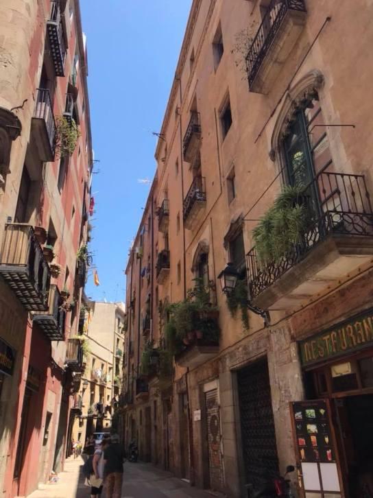 Barcellona a colori