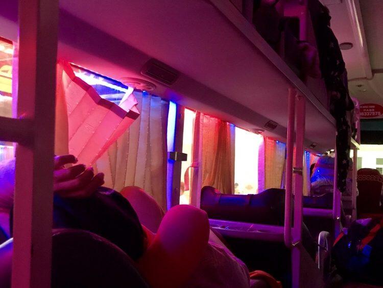 sleeping bus istruzioni per l'uso