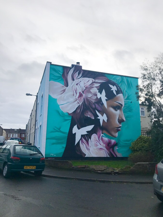 Up fest street art in bristol