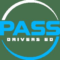 Pass Drivers Ed logo white