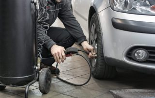Easy Vehicle Maintenance Filling Tires