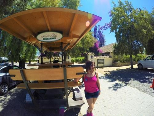 Pedal Bar - Usado em um dos passeios