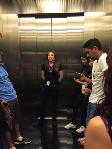 Subindo no Elevador