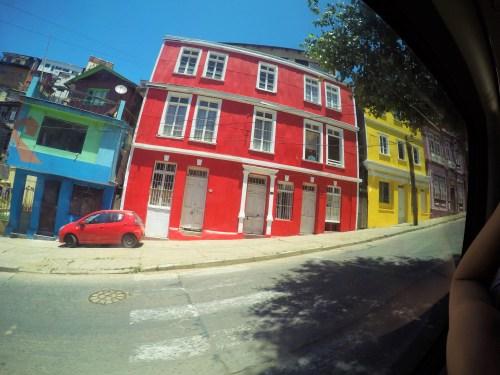 Valparaiso e suas casinhas