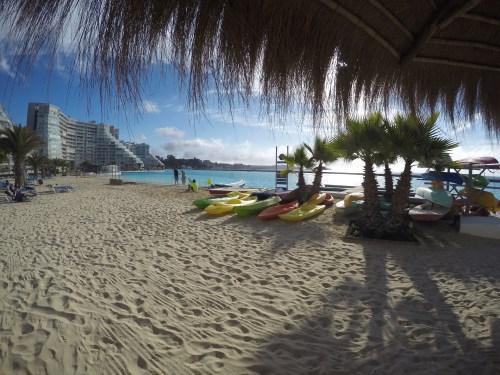 Praia do Edificio Vela de Proa