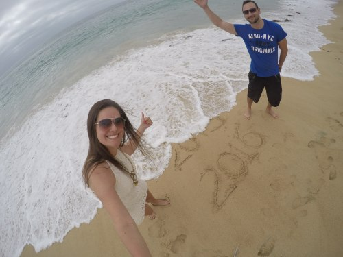 Praia - Virada do Ano