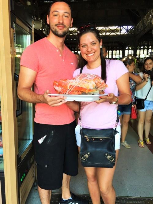 Mercado Central - King Crab(Centolla)