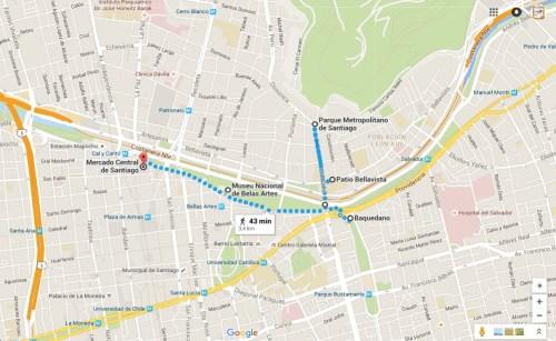 O que fazer em Santiago em 3 dias ou mais - Roteiro do centro histórico no 5º dia
