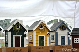 coroncine per le case degli uccellini