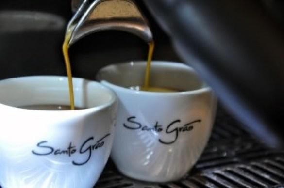 Xícara espresso Santo Grão. Divulgação