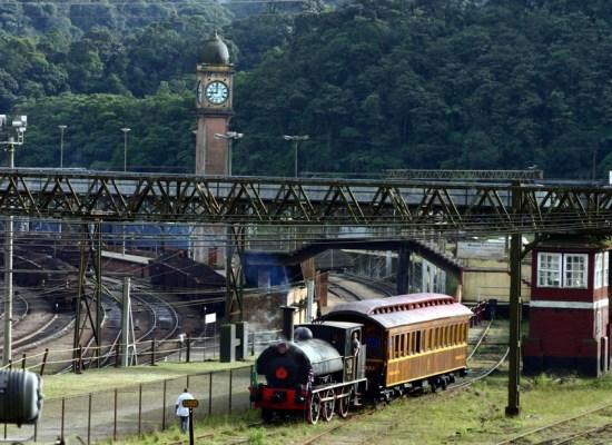 Passeio de trem em Paranapiacaba. Foto:  Divulgação Governo de São Paulo