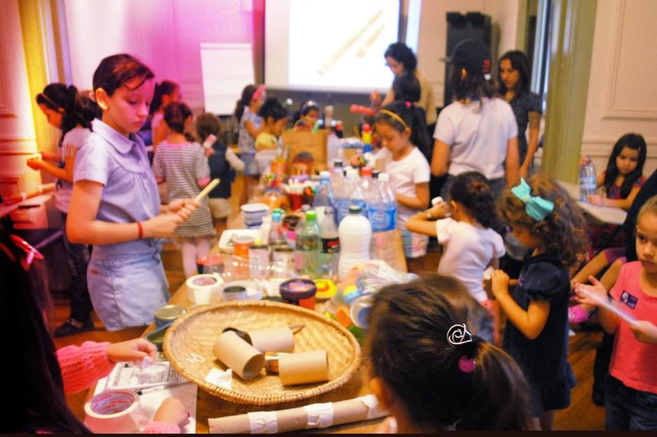 Oficina na Casa das Rosas. Foto: Divulgação