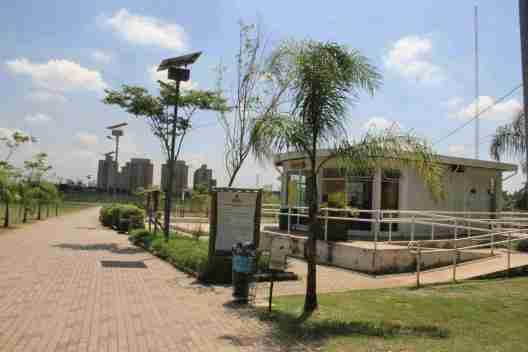 Parque Barragem do Guarapiranga fica à beira da represa. Foto: Divulgação